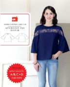 Liesl & Co Afternoon Tea Blouse sewing pattern